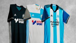 OM 2017 les maillots de football Marseille 2016 2017