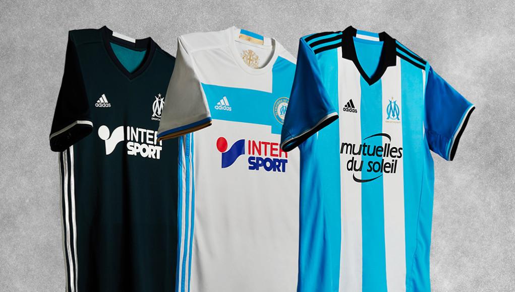 [OM 2017] les maillots de foot de Marseille 2016 2017