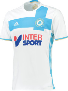 OM 2017 maillot de football domicile Adidas 2016 2017