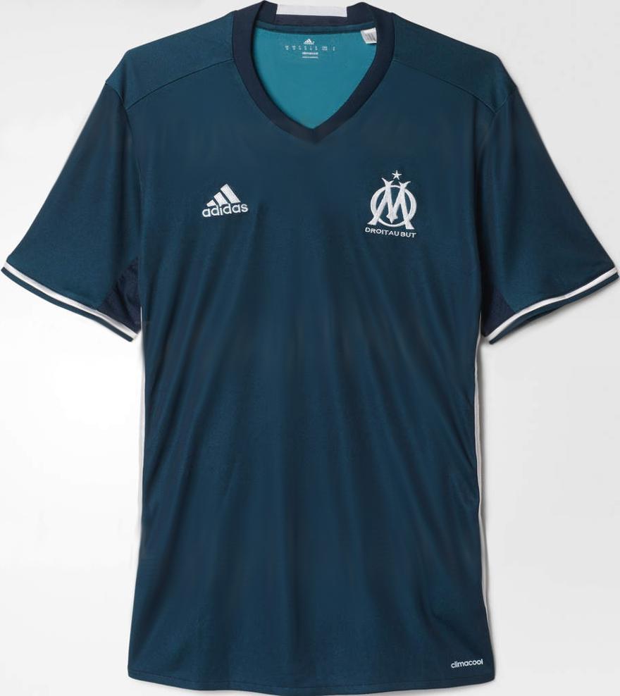 Om 2017 les maillots de foot de marseille 2016 2017 for Maillot exterieur om 2017