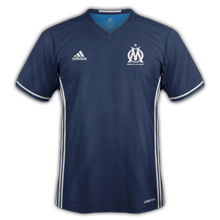 Les maillots de football des clubs 2016 2017 for Maillot exterieur om