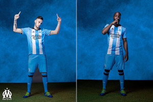 OM 2017 troisieme maillot third Marseille 2016 2017 Ocampos Diarra