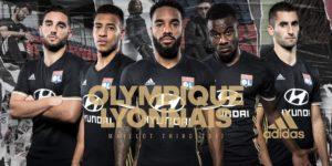 Olympique Lyonnais maillot third 2017