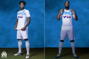 Olympique de Marseille 2017 maillot foot domicile Diarra Batsuayi