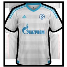 Schalke 2017 maillot exterieur 2016 2017