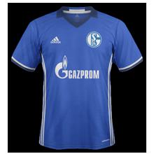 Schalke 2017 maillot foot domicile 2016 2017