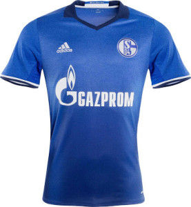 Schalke 2017 maillot football domicile 2016 2017