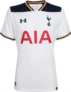 Tottenham 2017 maillot de foot domicile 16-17 officiel