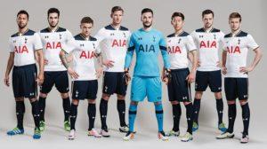 Tottenham 2017 maillot de foot domicile 16-7