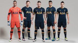 Tottenham 2017 maillot de foot exterieur 16-17