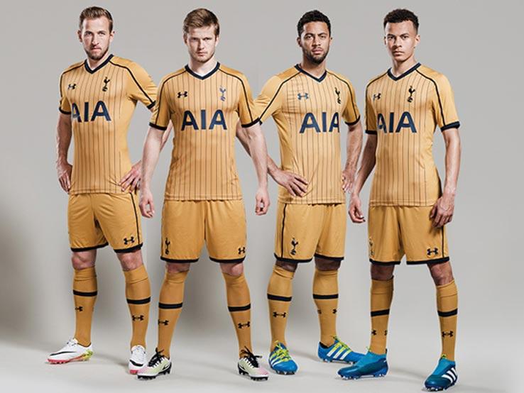 Nouveaux maillots de foot Tottenham 2017