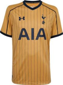 Tottenham 2017 trosieme maillot third 16-17