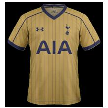 Tottenham 2017 trosieme maillot third 16-17 football