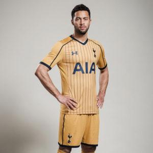 Tottenham 2017 trosieme maillot third 2016 2017