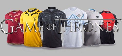 maillots foot game of thrones