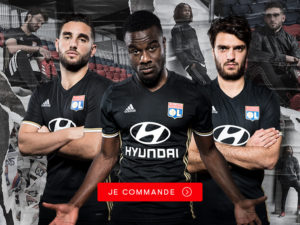 maillot des coupes Lyon 2017