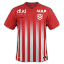 ASNL Nancy 2017 maillot domicile foot