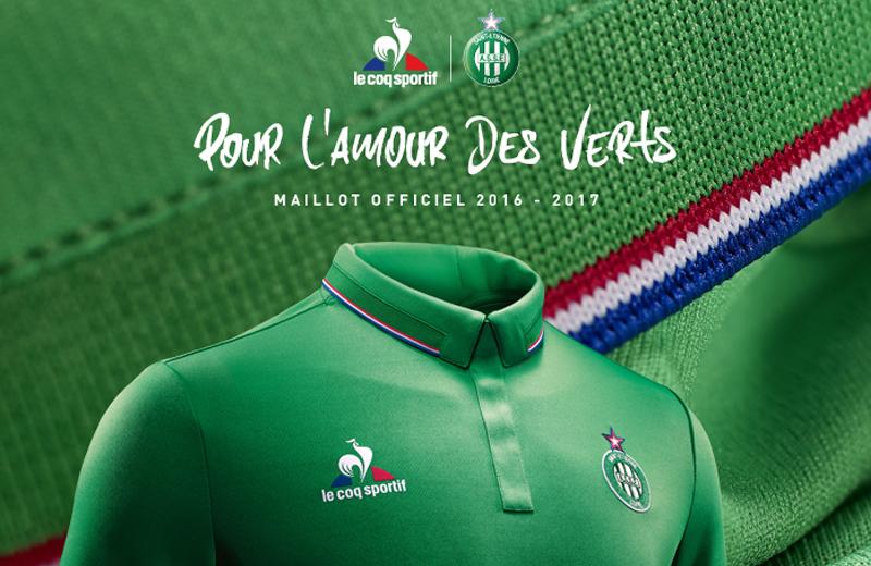 [ASSE 2017] les nouveaux maillots AS Saint-Etienne 2016 2017