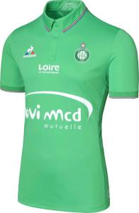 ASSE 2017 maillot de foot Saint Etienne 16-17 Le coq sportif