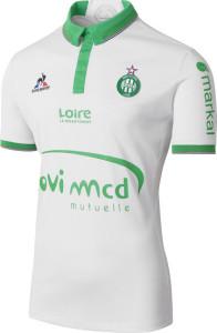 ASSE 2017 maillot exterieur Saint Etienne 2017 Le coq sportif
