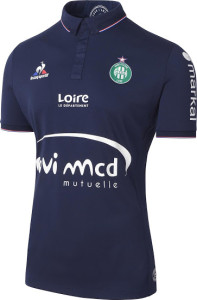 ASSE 2017 troisieme maillot third AS Saint Etienne