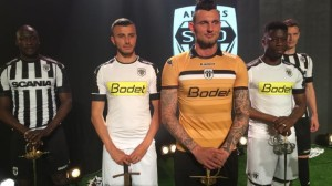 Angers 2017 maillots de football 16-17