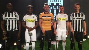 Angers 2017 nouveaux maillots foot SCO 2016 2017 Kappa