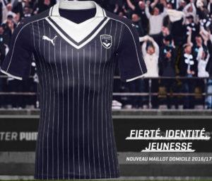 Bordeaux 2017 maillot de foot domicile Puma 2016 2017