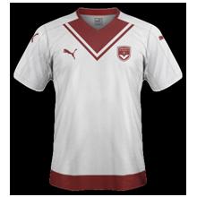 Bordeaux 2017 maillot exterieur foot 2016-2017
