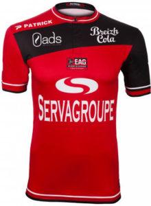 EA Guingamp 2017 maillot domicile foot