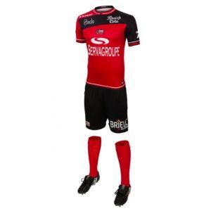 EAG 2017 maillot domicile short chaussettes rouge