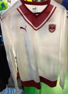 Girondins de Bordeaux 2017 maillot exterieur Puma