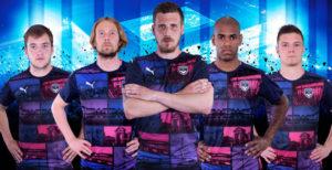 Girondins de Bordeaux 2017 troisieme maillot third Puma