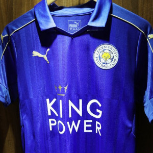 Leicester 2017 maillot foot Puma 16-17 officiel