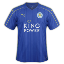 Leicester 2017 maillot foot Puma 2016 2017