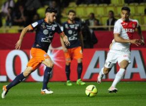 MHSC 2017 maillot domicile bleu Montpellier 16-17