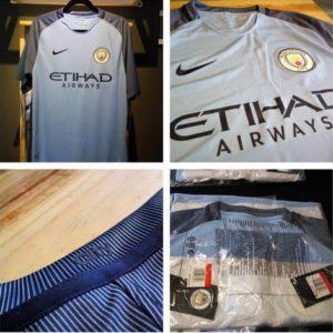 Manchester City 2017 maillot domicile 2016 2017