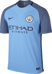 Manchester City 2017 maillot domicile officiel Nike