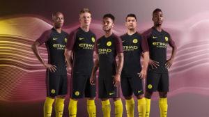 Manchester City 2017 maillot exterieur officiel Nike