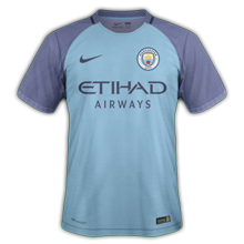 Manchester City 2017 maillot foot domicile Nike