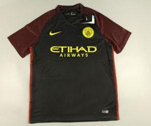 Manchester City 2017 maillot foot exterieur 2016 2017 Nike