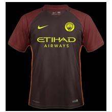 Manchester City 2017 maillot foot exterieur 2016 2017