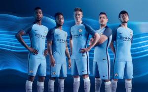 Manchester City 2017 nouveau maillot foot domicile 2016 2017