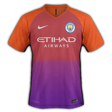 Manchester City 2017 troisieme maillot third