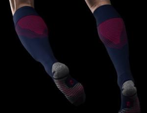 PSG 2016 2017 chaussettes de foot Nike bleues