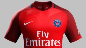 PSG 2017 maillot exterieur Nike 2016 2017