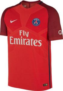 PSG 2017 maillot foot exterieur 16-17