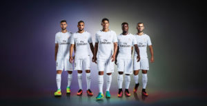 PSG 2017 maillot third paris-saint-germain Nike