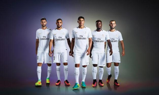 [PSG 2017] les maillots de foot du Paris Saint Germain 2016/2017