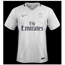 PSG 2017 troisieme maillot de foot third 2016 2017 Nike